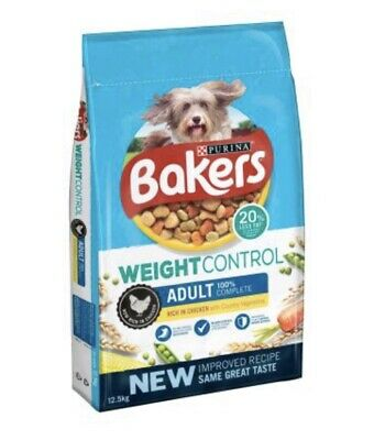 Bakers Complete Weight Control/Light Dry Dog Food - 2 X 12.5kg Bags For £48