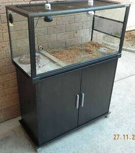 Reptile (lizard) Terrarium 1000x450x500 and Cabinet mrs v pls msg Isaacs Woden Valley Preview
