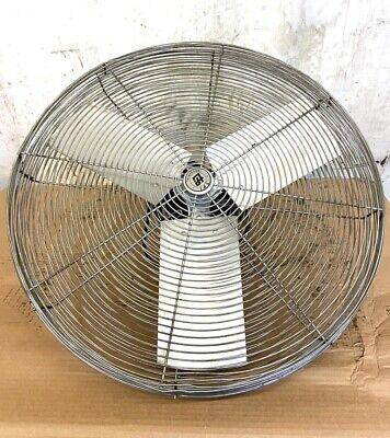 Tpi Industrial Fan Ach24 24 Blade Size 1 Phase 120 V 3600-4500 Cfm