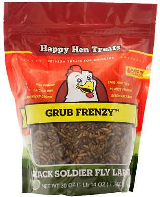 Happy Hen Treats Grub Frenzy Premium Treats For Chickens 30 Oz