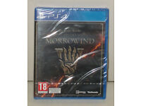 SONY PLAYSTATION PS4 GAME THE ELDER SCROLLS MORROWIND PAL 18 BRAND NEW & SEALED.