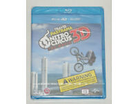 DVD 3D FILM MOVIE BLURAY TRAVIS PASTRANA NITRO CIRCUS 3D THE MOVIE HIDEF BLU-RAY