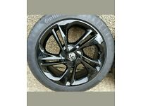 2015 Corsa e Black Alloy wheels