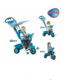 Boys 3 in 1 blue trike