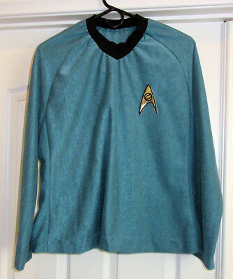 Star Trek 1st/2nd Season style Tunic. Medical/Sciences Division,  Ensign