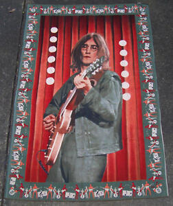 BEATLES JOHN LENNON  Cloth Tapestry 36