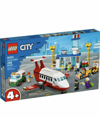 Lego City Central Airport 4+ # 60261 Factory Sealed.