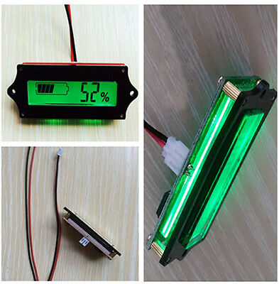 New!LCD Battery Capacity Tester Indicator for 12V Lead-acid Lithium LiPo Battery