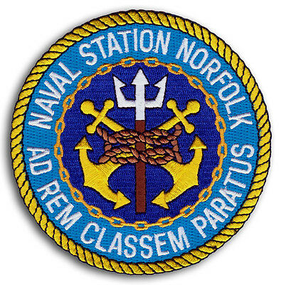 US Navy NAVAL STATION NORFOLK VIRGINIA Classem Paratus