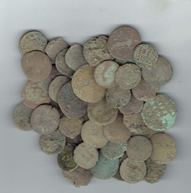 LARGE SIZE Dirty Ancient Roman Coins, 18-24 mm, found in Jerusalem & Holyland