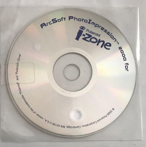 ArcSoft PhotoImpression 2000 for Polaroid i-Zone CD-Rom Software