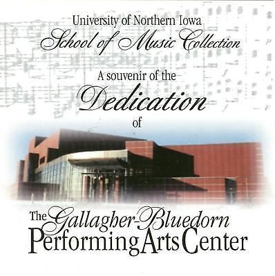 UNIVERSITY OF NORTHERN IOWA School Of Music CD 2000 ()