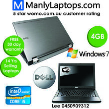 i5 Dell E6410 laptop - includes 30day warranty - only $249.99!! Marrickville Marrickville Area Preview