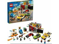 LEGO 60258 City Nitro Wheels Tuning Workshop Building Set