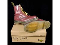 Dr Martens 1460 Cherry Red UK size 6