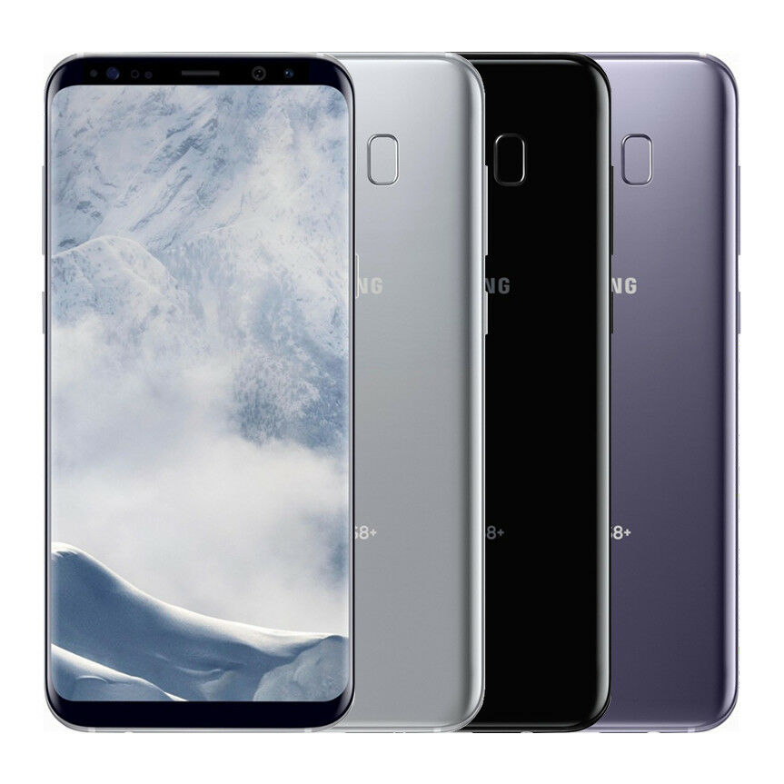 "Android Phone - Samsung G955 Galaxy S8+ Plus 64GB Android ""Factory Unlocked"" 4G LTE Smartphone"