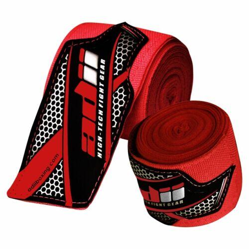 "ADii™ Premium Boxing Hand Wraps 180"" MMA Muay Thai Inner Gloves Wrap Bandages(R)"
