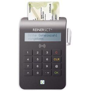 ReinerSCT cyberJack RFID KOMFORT Personalausweis-Leser + OnlineBanking HBCI *NEU