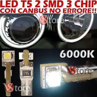 10 LED T5 SMD BIANCO Lampade Luci Lampadine Posizione Per Fari Angel Eyes Quadro