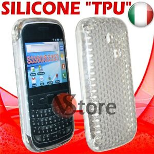Cover Case Case Clear for SAMSUNG S3350 335 Ch@t Gel Silicone TPU