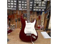 Fender Stratocaster -Mexican Wine red