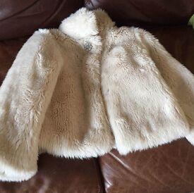 Childs Fur Coat,