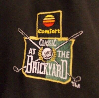 Comfort Inn Classic At The Brickyard Pullover Jacket Outerwear Black Mens Sz Xl