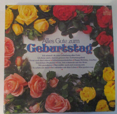 "LP 12"" Vinyl Sampler     ""Alles Gute um Geburtstag""   Ariola"