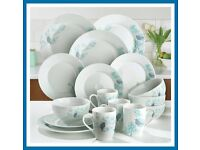Spring blossom dinner set with 4 FREE mugs