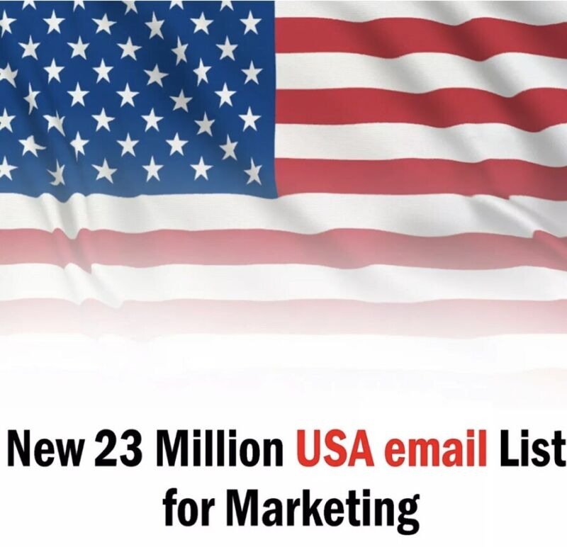 23 Million USA Email List for Marketing & Business Targeted 2020 Email List 🇺🇸