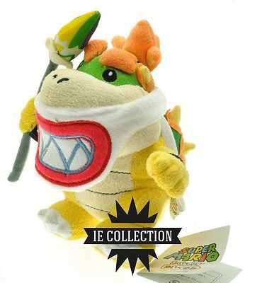 Super Mario Bowser JUNIOR mit lancia Plüsch Schneemann Plush new Baby Koopa Jr.