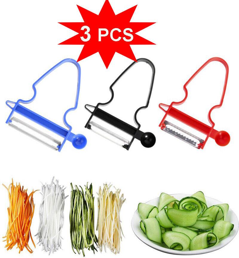 Kitchen Magic 3Pcs/Set Peeler Trio Slicer Shredder Julienne