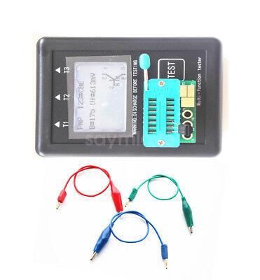 Latest Transistor Tester Tft Diode Triode Capacitance Meter Esr Npn Pnp Mosfet
