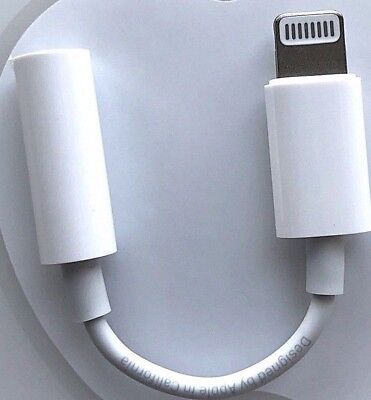 Apple Lightning to 3.5 mm Headphone Jack Adapter iPhone 7 Pl