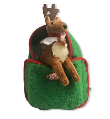 Elf on the Shelf Elf Pets Lot Reindeer Plush Carrier Backpack