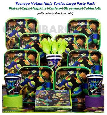 TMNT Teenage Mutant Ninja Turtles Birthday Party Supplies Ultimate Pack 59 pcs