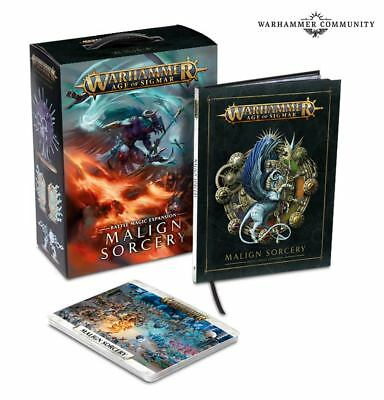 Malign Sorcery Expansion Warhammer Age of Sigmar NEW PRESALE Ships 7/2!
