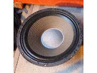 Leech 12 inch 8ohm 65watt guitar/bass speaker