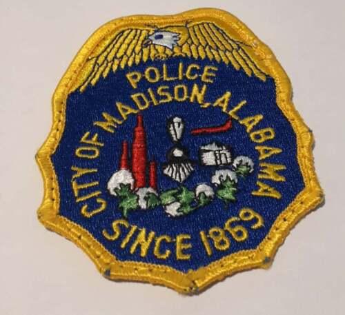 Madison Alabama AL US Police Patch Vintage