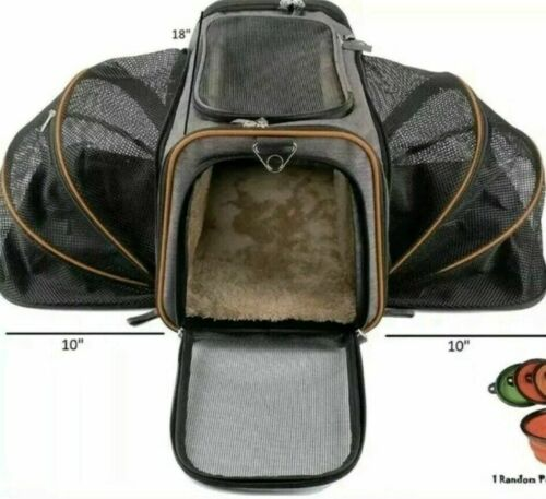 Petpeppy.com The Original Airline Approved Expandable Pet Carrier