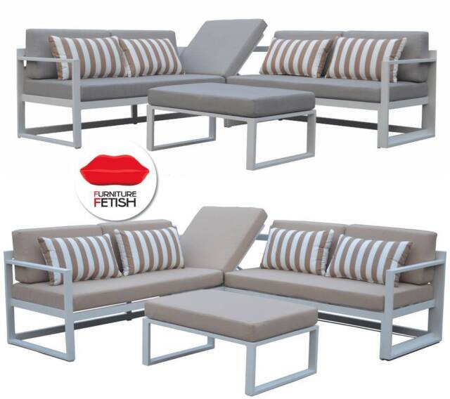 Outdoor furniture adler corner lounge and table new design for Furniture gumtree
