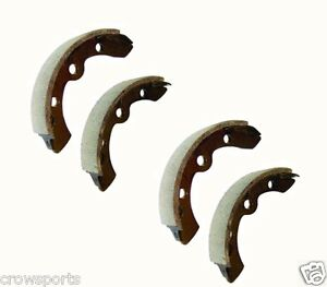 4-CLUB-CAR-GOLF-CART-BRAKE-SHOES-1995-UP-DS-PRECEDENT-GAS-ELECTRIC