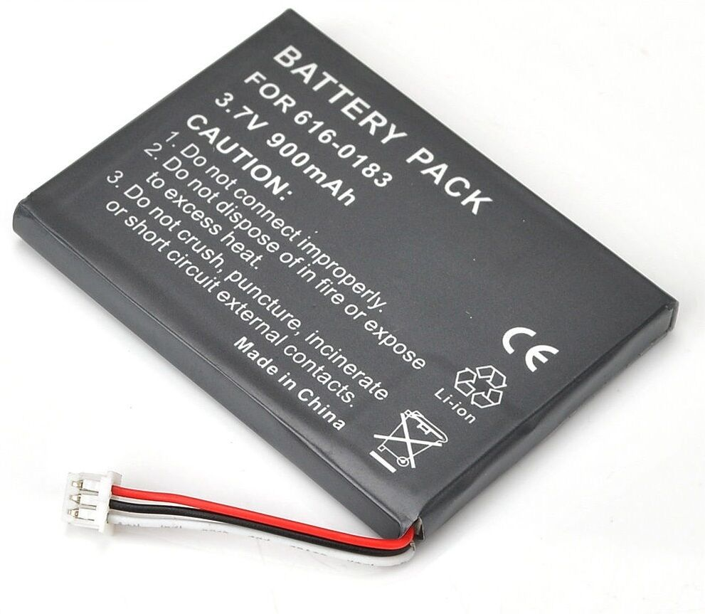 4G Akku für Apple iPod 4.Generation A1099 750mAh 3.7V Li-Ion A1059