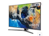 """65"""" SAMSUNG Smart 4K Ultra HD HDR LED TV UE65MU6470U warranty and delivered"""