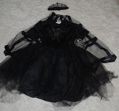 Pottery Barn Teen Halloween Costume Spider Fairy Dress Cape Headpiece 11/12 YRS - 11-12 Halloween Costumes