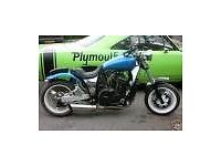 cruiser wanted honda vt750 vt1100 jap v twin chopper custom bobber £1500