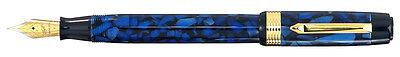 Bexley Patriarch Sapphire Blue Broad Point Fountain Pen