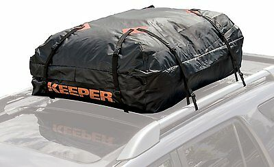 (Rooftop Cargo Carrier Bag For Car Van SUV Waterproof Weather Protects 15 Cubic)