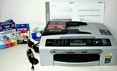 Brother MFC-240C Color Inkjet All-in-One Printer Fax Machine Copy Scanner Bundle for sale  Shipping to Nigeria