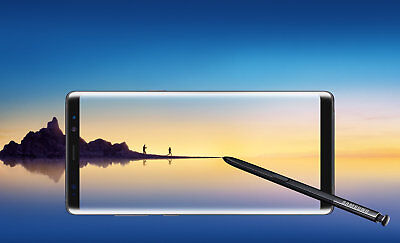 New - Samsung Galaxy Note8 SM - N950U - 64GB - Sprint/T-Mobile UNLOCK Smartphone